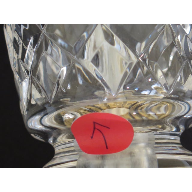 Metal 1990s Traditional Waterford Crystal Table Lamp With Shade For Sale - Image 7 of 8