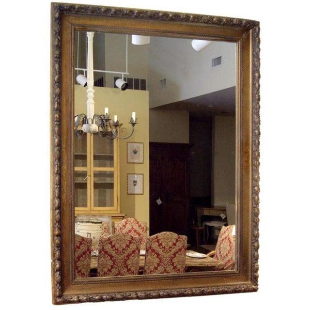 19th C. Italian Worn Gilt Mirror For Sale - Image 4 of 6