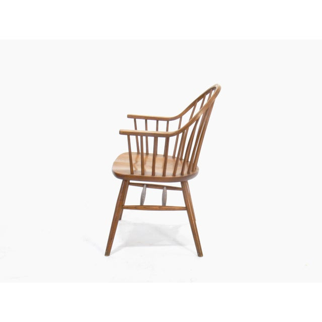 Claud Bunyard for Nichols & Stone Continuous Bow Back Windsor Chair - Image 4 of 6