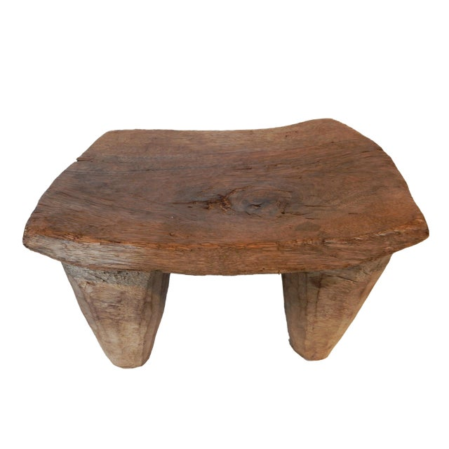 Vintage Senufo Low Milk Stool - Image 1 of 8