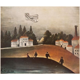 "1951 ""Les Pecheurs a La Ligne"" Landscape and Fishermen Photogravure by Henri Rousseau For Sale"