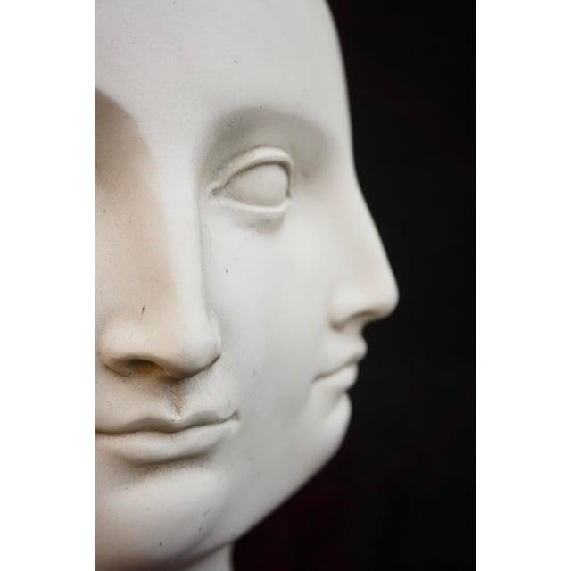 Original Tms 2005 Vitruvian Fornasetti Style Perpetual Face Vase Dora Maar Head Planter For Sale - Image 11 of 13