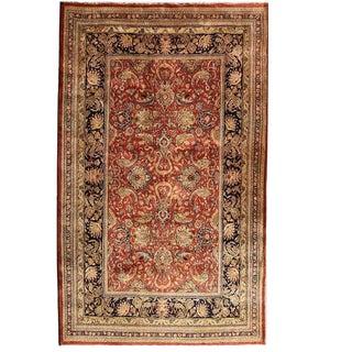"Persian Tabriz Rug 9' 10"" X 13' 8"" For Sale"