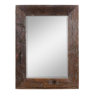 Sleeper Wooden Framed Small Mirror