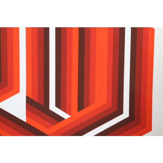 Artist: Frank Rowland Title: Race Year: circa 1970 Medium: Screenprint, signed, dated, and titled in pencil Edition:...