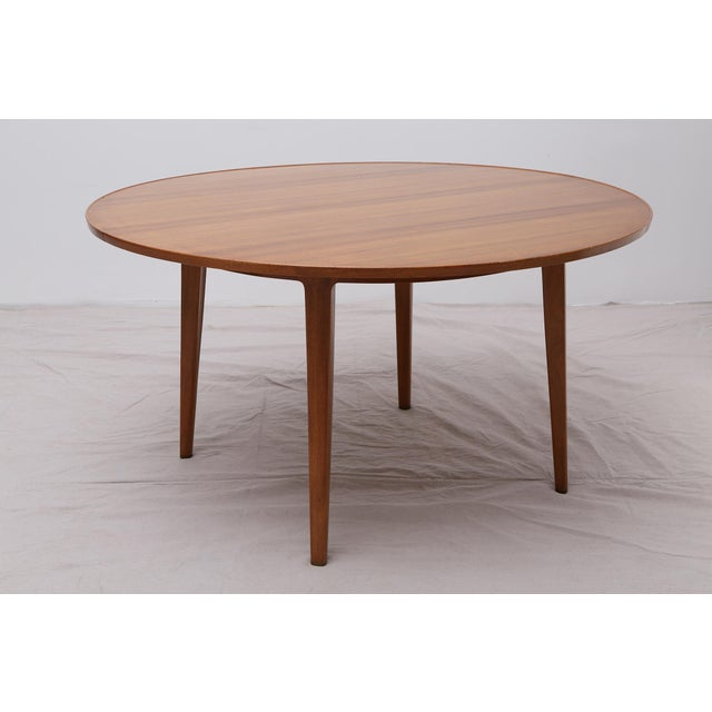 Bleached Mahogany Dining Table by Edward Wormley for Dunbar - Image 3 of 9
