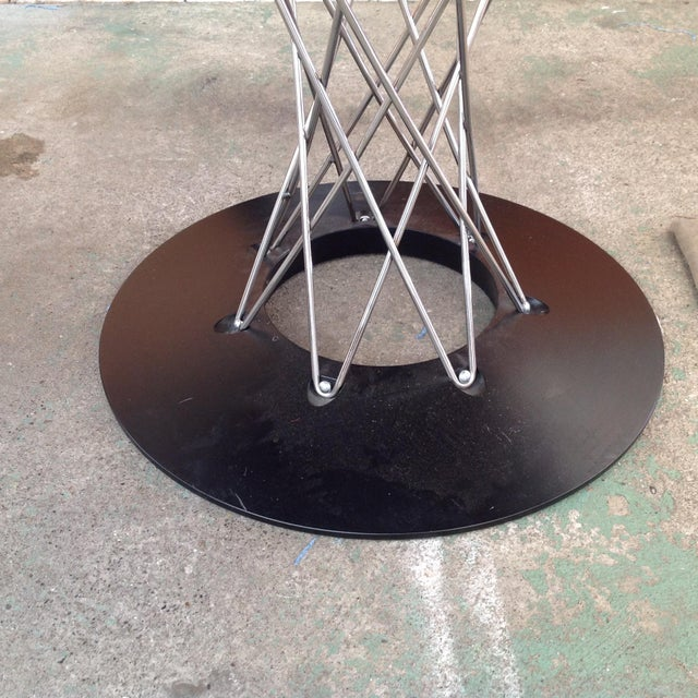 Noguchi for Knoll Cyclone Dining Table For Sale - Image 5 of 7