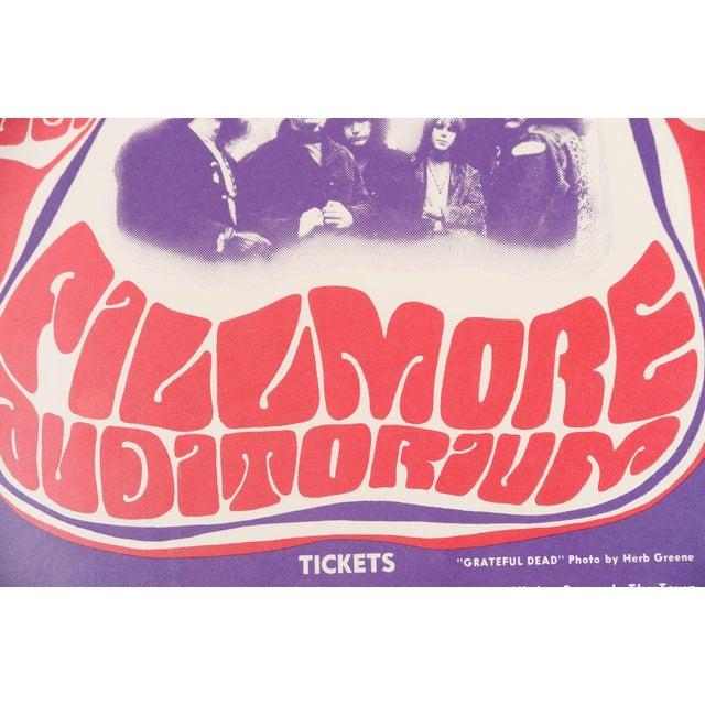 Vintage Grateful Dead in San Francisco Concert Poster - Image 5 of 7