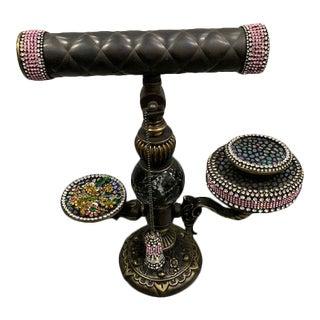 "Massimo Strino ""Spin Me Up"" Kaleidoscope Musical Pedestal For Sale"