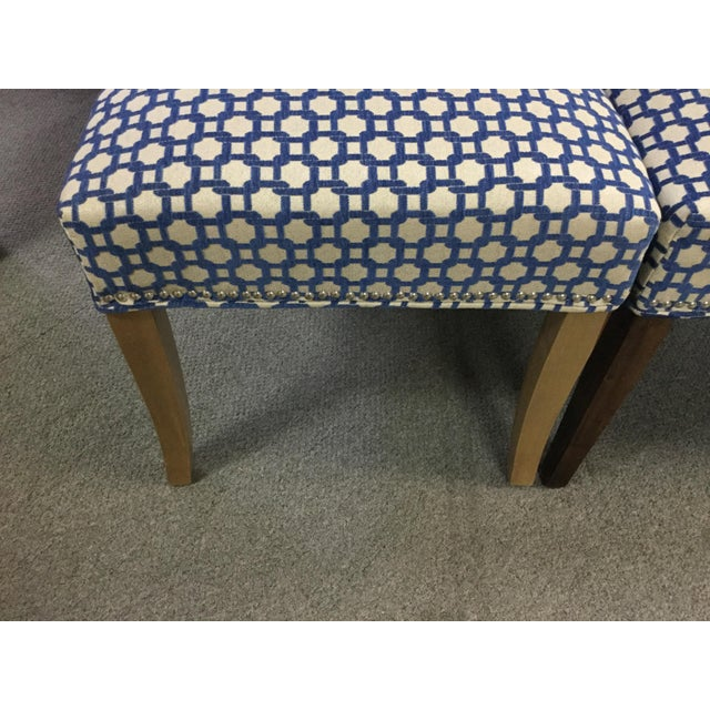 Transitional Dining Room Side Chairs - Set of 6 For Sale - Image 4 of 8