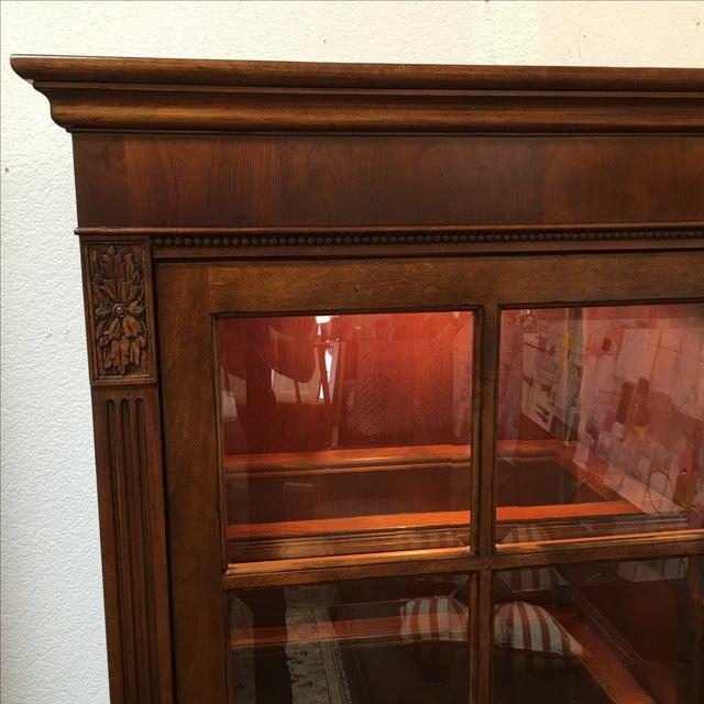 Henley Cherry Sliding Door Book Case - Image 3 of 11