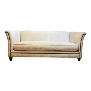 Dapha Upholstery Beige Sofa For Sale