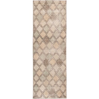 Mid 20th Century Vintage Art Deco Wool Scatter Rug For Sale