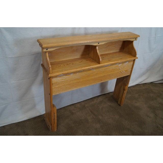 Brandt Ranch Oak Bookcase for Twin Size Headboard - Image 2 of 9