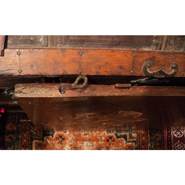 Gold Lettered Asian Wood Shop Sign - Image 8 of 10