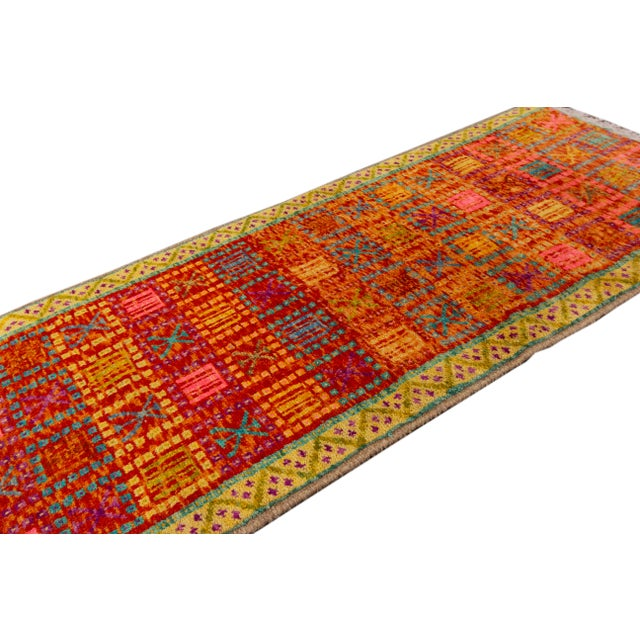 """Modern Gabbeh Rug, 2'0"""" X 5'0"""" For Sale - Image 4 of 10"""