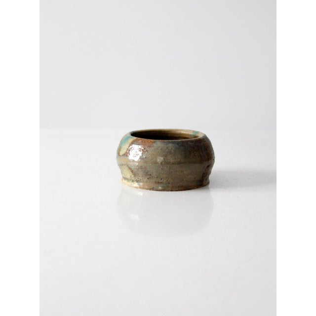 Boho Chic Mid-Century Studio Pottery Bowl For Sale - Image 3 of 7
