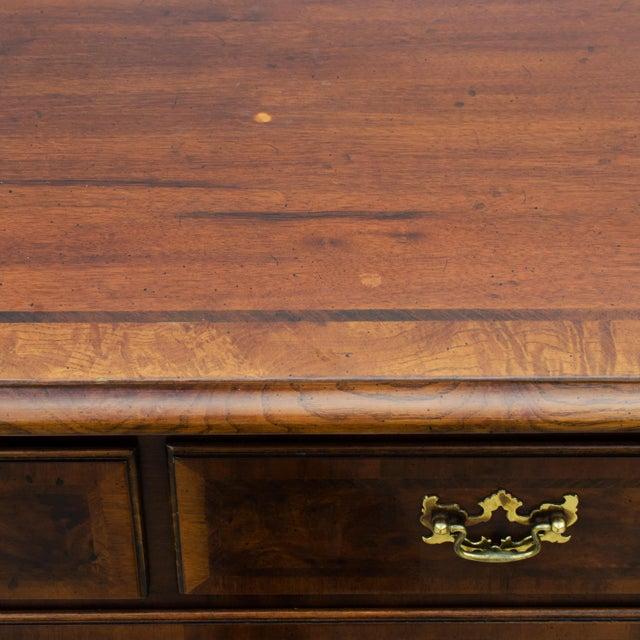 Henredon Aston Court Mahogany & Elm Dresser For Sale - Image 5 of 6