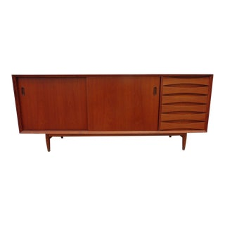 1960's Danish Modern Arne Vodder Teak Sideboard for Sibast Furniture For Sale