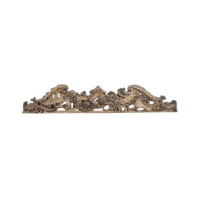 English Carved Wooden Architectural Fragment - Image 3 of 4