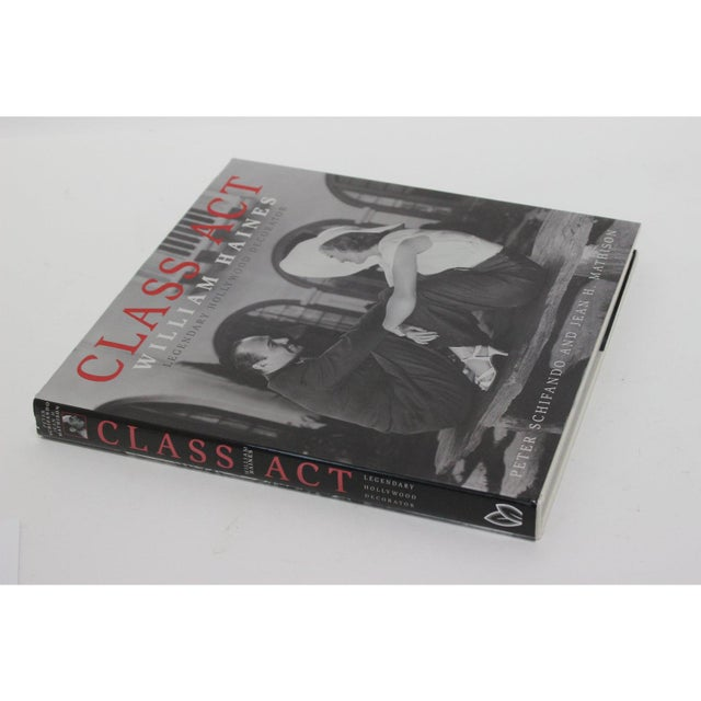 """Hollywood Legendary Decorator Book """"Class Act William (Billy) Haines"""" 1st edition 2005 - amazing hardcover source..."""
