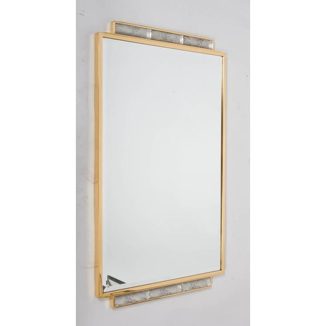 Art Deco Wall-Mirror For Sale - Image 9 of 9