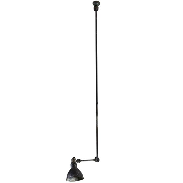 Model No. 302 Adjustable Ceiling Light by Gras Ravel - Image 1 of 9