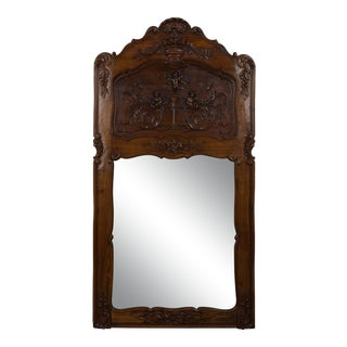 French Country Wall Mirror For Sale