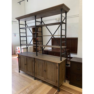 Pine + Iron Bookcase & Cabinetry Preview