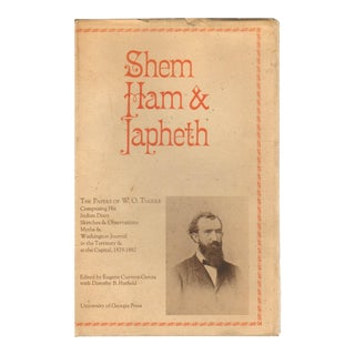 "1973 ""Signed Edition, Shem Ham & Japheth: The Papers of W. O. Tuggle"" Collectible Book For Sale"
