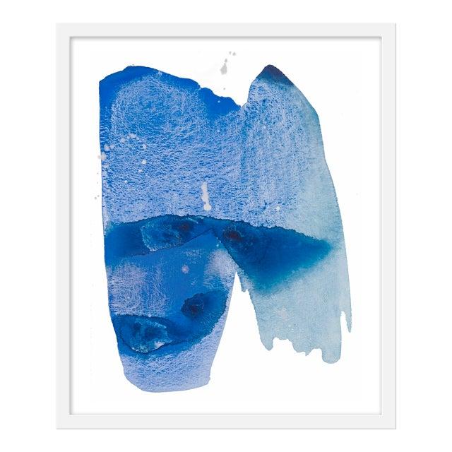 "Medium ""Watercolor Study Indian Ocean"" Print by Kate Roebuck, 20"" X 24"" For Sale"