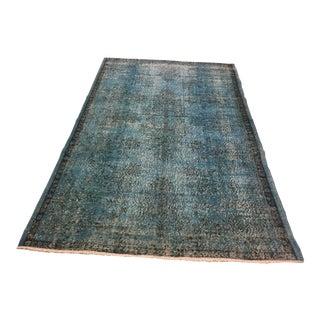 "Vintage Turkish Tribal Carpet - 5'8"" x 9'1"""