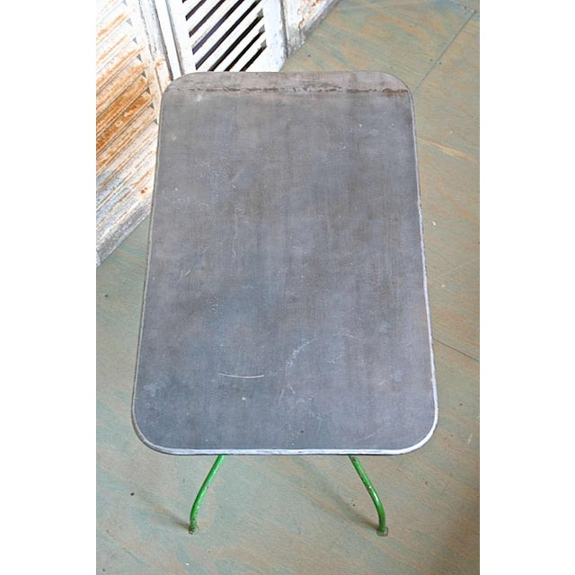 Metal Early 20th Century French Garden Table For Sale - Image 7 of 9