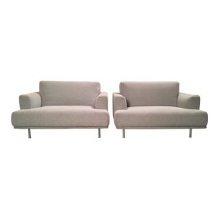 "Late 20th Century Piero Lissoni for Cassina ""253 Nest"" Chairs- a Pair For Sale"