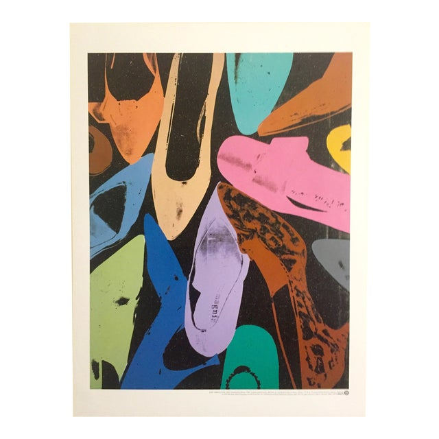 "Andy Warhol ""Diamond Dust Shoes"" Offset Lithograph For Sale"