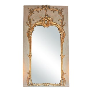 Louis XV Trumeau Mirror For Sale