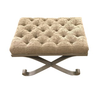 Early 21st Century Vintage Schumacher Vento Bench For Sale