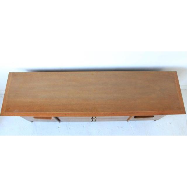 Mid-Century Modern Geometric 9-Drawer Dresser - Image 4 of 10