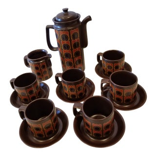 Mid Century Coffee Set For Sale