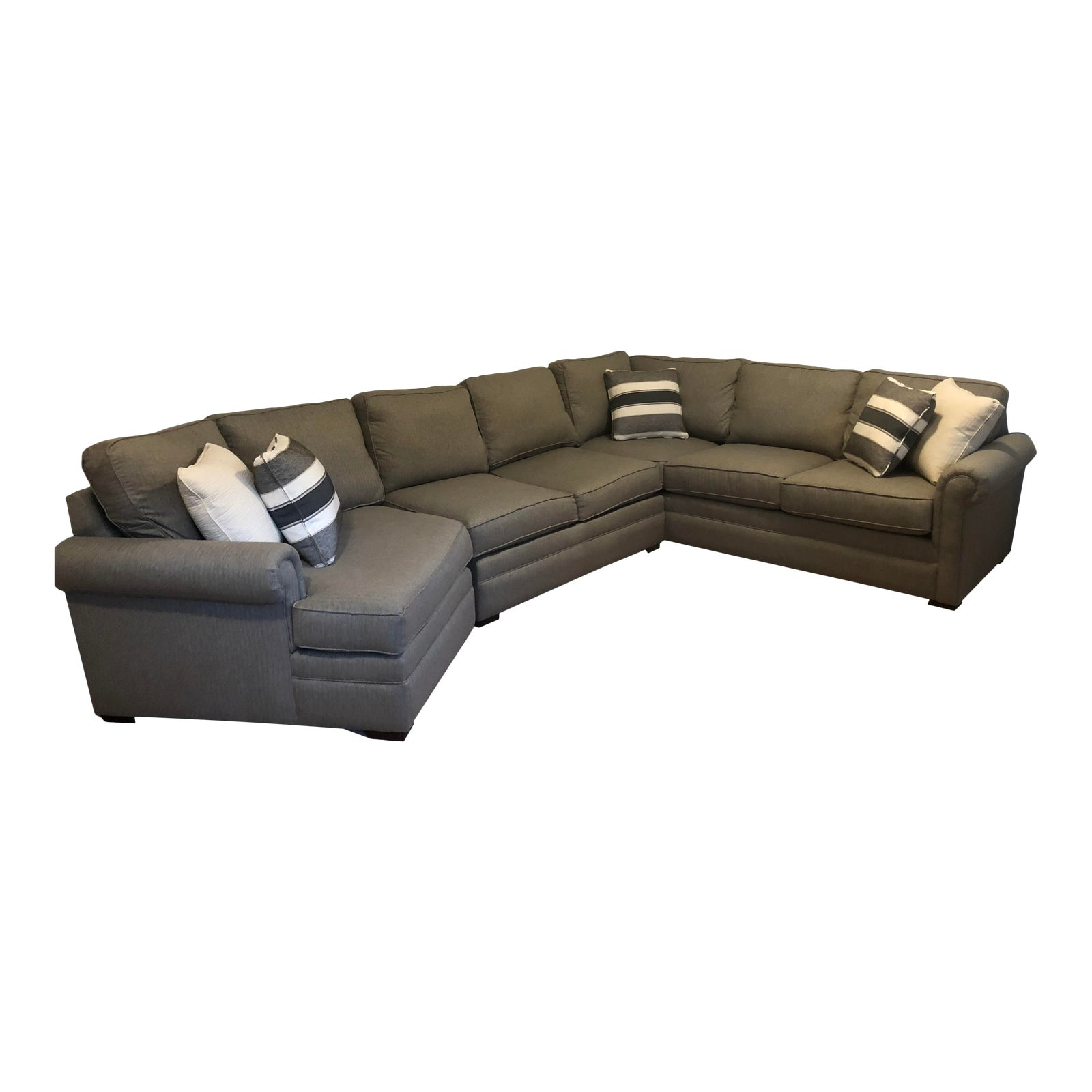 Stupendous Sectional Sofa With Love Nook Evergreenethics Interior Chair Design Evergreenethicsorg
