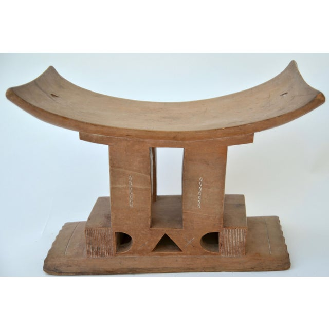 Wood Ashanti Stool Ghana, Early 20th Century For Sale - Image 7 of 7