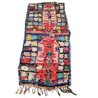 Harrison Moroccan Boucherouite Rug - 2′6″ × 5′4″ For Sale