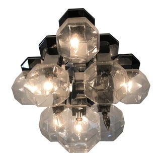 Motoko Ishii for Staff Faceted Light Fixture For Sale