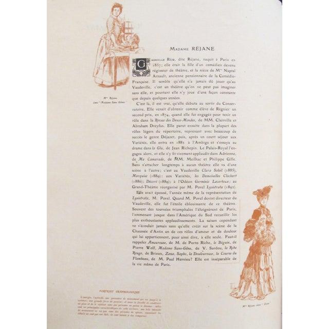 "1904 ""Les Contemporains Celebres"" Book For Sale - Image 5 of 11"