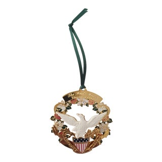 1998 White House Historical Association Christmas Ornament For Sale