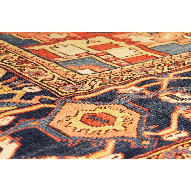 "Antique Persian Heriz Rug- 11'2"" x 15'3"" For Sale - Image 5 of 6"