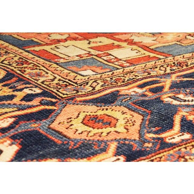 """Antique Persian Heriz Rug- 11'2"""" x 15'3"""" - Image 5 of 6"""