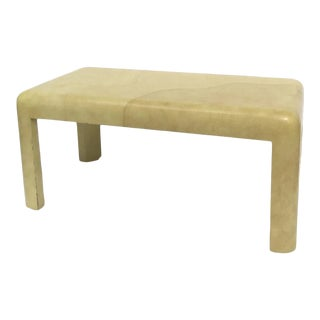 Vintage Ernest C. Masi Parson Coffee Table Lacquer Finish For Sale