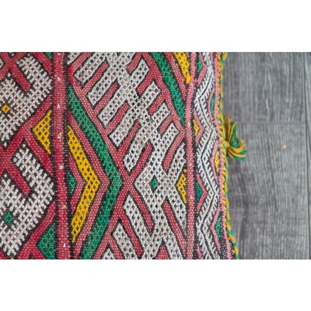 Handmade Berber Pillow - Image 3 of 4