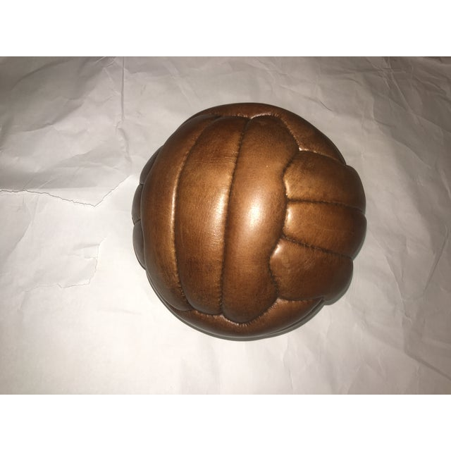 English Soccer Match Leather Ball - Image 4 of 9